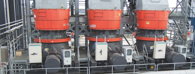 Σταθερά Μηχανήματα Θραύσης & Διαλογής